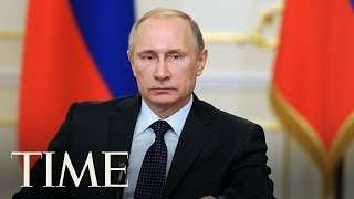 Vladimir putin says russia's military is stronger than anyone's | time