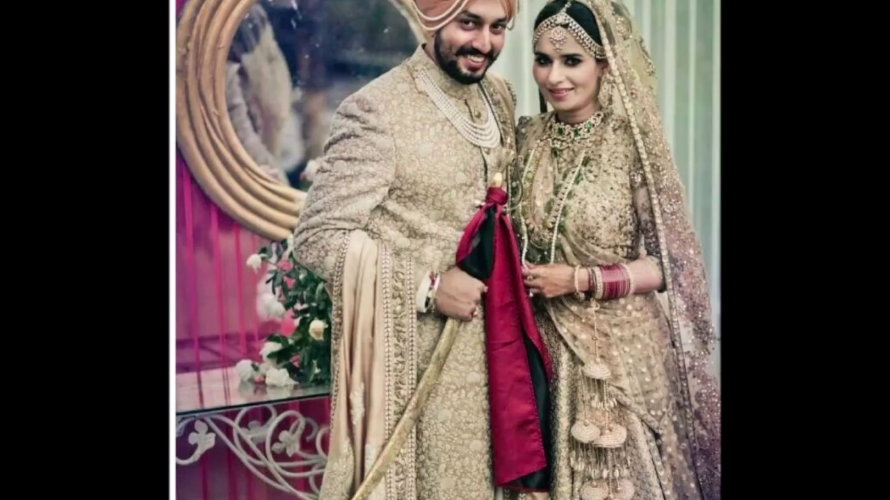Punjabi Couple Dress Latest Matching Dress For Bride And Groom Punjabi Wedding Dress For Couples Youtube