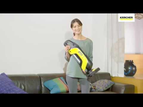 kabelloser staubsauger vc 5 cordless von k rcher youtube. Black Bedroom Furniture Sets. Home Design Ideas
