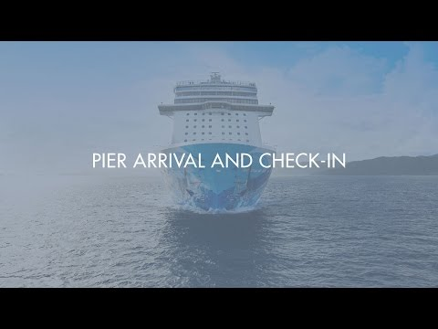 Pier Arrival and Check-In with Norwegian Cruise Line