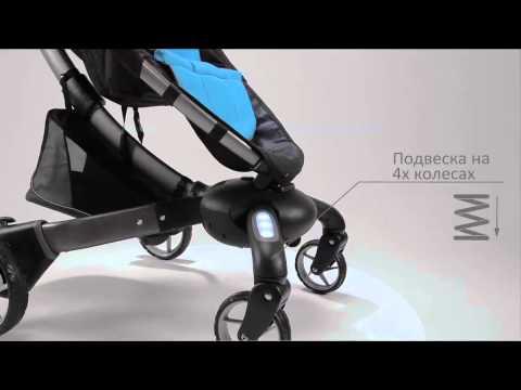 Роботизированная прогулочная коляска 4moms Origami