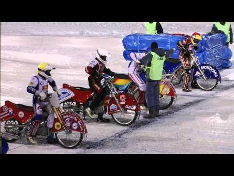 Финал личного чемпионата России 8.01.2012 ice speedway. Заезд 40