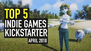 Baixar Top 5 Indie Games on Kickstarter - April 2018