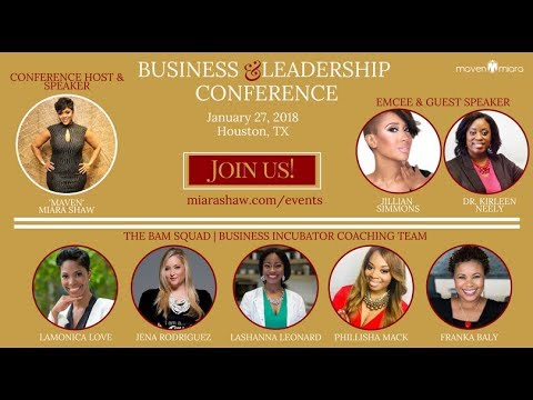 Maven Business & Leadership Conference Promo 2018