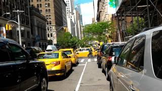 7/13 ニューヨーク旅行 3日目 3【2017年5月14日】マンハッタンの真っ只中で道程間違えた ユニオンスクエア公園→3番街→エンパイアステートビル→5番街