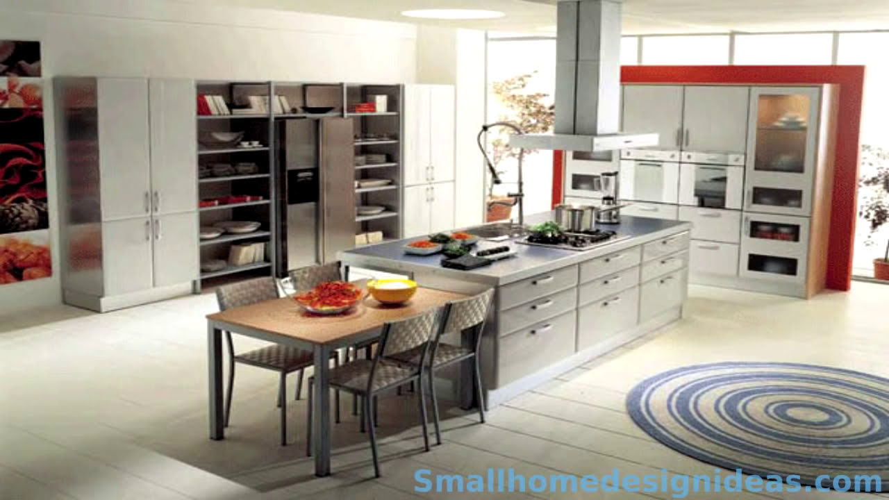 Modern kitchen design ideas youtube for Pictures of new kitchens