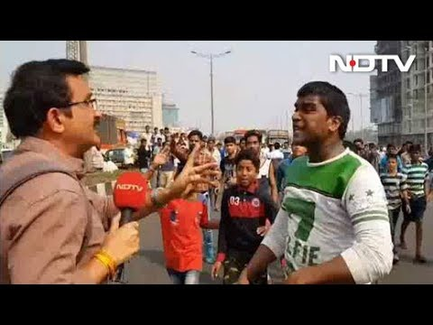 Protesters Attack NDTV Reporter, Prevent Coverage of Violence
