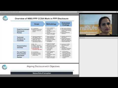 Creating a Framework for PPP Disclosure