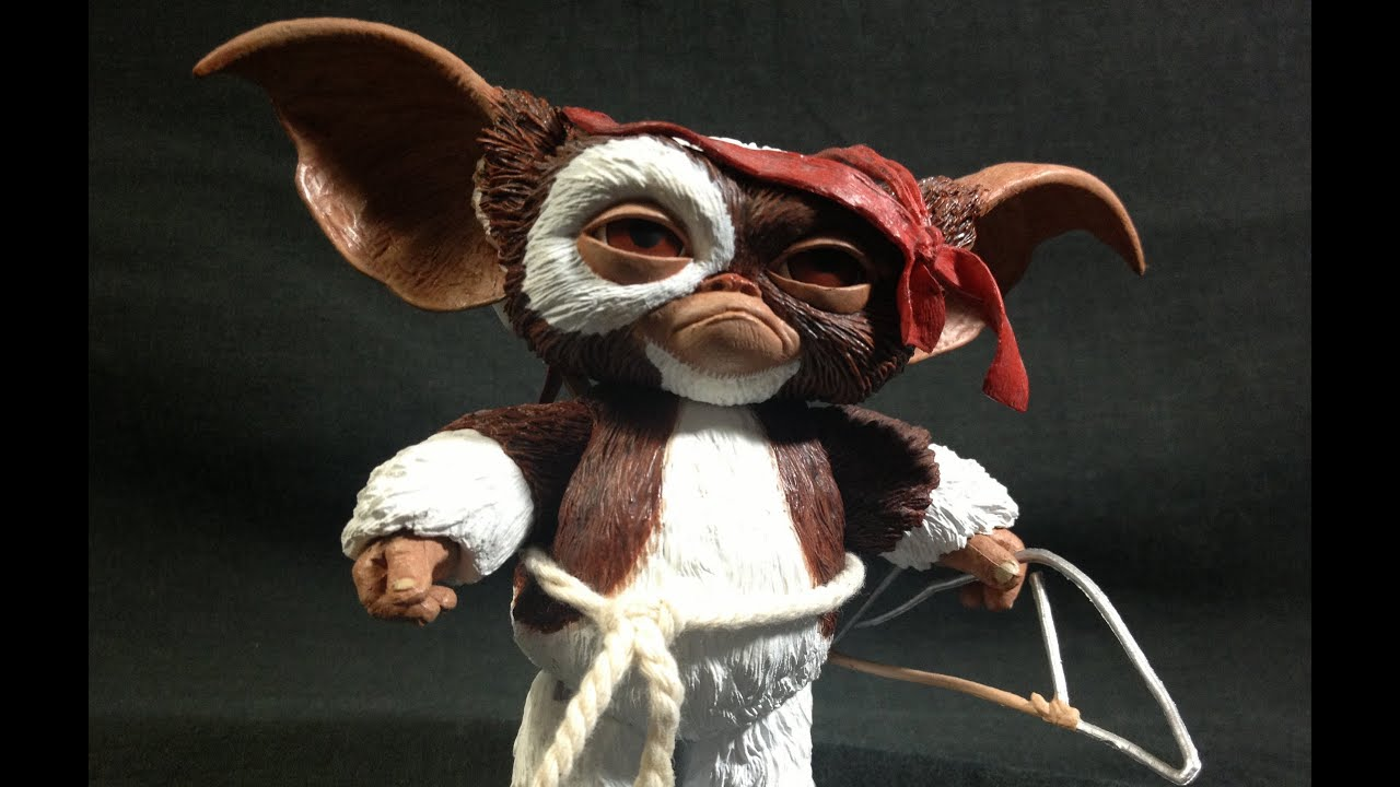 Cute Doll Image Wallpaper Neca Gremlins Combat Gizmo Review Youtube