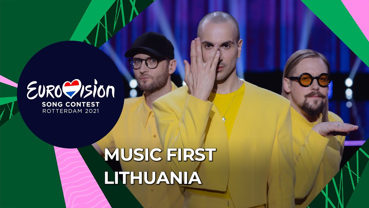 Music First with The Roop from Lithuania 🇱🇹 - Eurovision Song Contest 2021