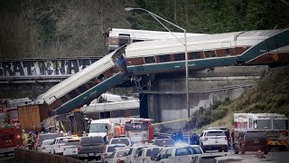 Video Amtrak train derailed speeding 80 mph in 30 mph zone download MP3, 3GP, MP4, WEBM, AVI, FLV Januari 2018