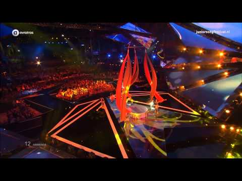 Armenië: Betty - People Of The Sun | Junior Eurovisie Songfestival 2014