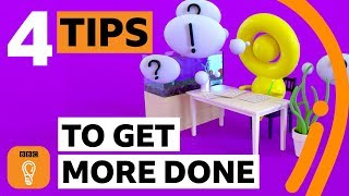 How to be more productive | Productivity tips and hacks | BBC Ideas