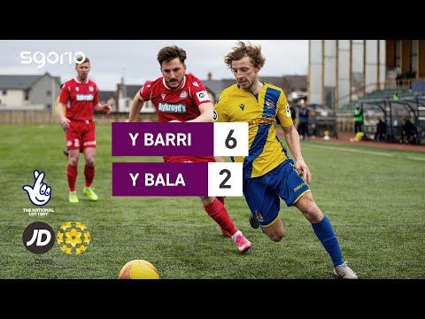 Barry Bala Town Goals And Highlights