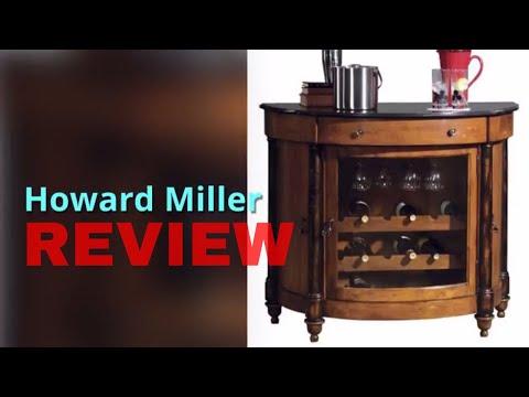 Howard Miller 695-016 Merlot Valley Wine /& Bar Console