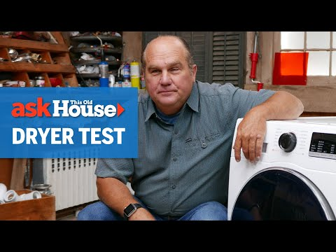 Exploring A Heat Pump Clothes Dryer | Ask This Old House