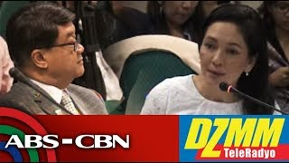 DZMM TeleRadyo: Buko na kayo says Hontiveros on wiretap case that proves Aguirre's 'conspiracy'