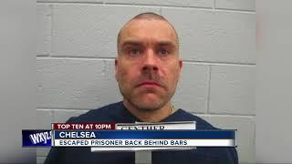 Escaped prisoner back behind bars in Chelsea