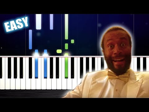 Bobby McFerrin - Don't Worry Be Happy - EASY Piano Tutorial By PlutaX