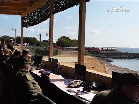 В Самарской области прошли масштабные учения военных