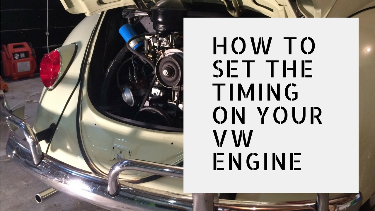 Timing Your VW Engine  Static Timing Method  YouTube