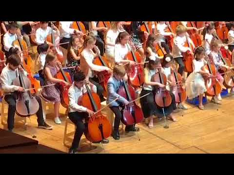 2017 Suzuki graduation concert at the Sydney Opera House
