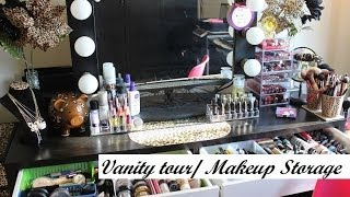 Vanity Tour/ Makeup Storage