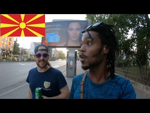 Skopje, Macedonia walking tour. 1 hour+ vlog