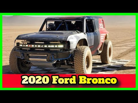 Ford Bronco R 2020 First Look