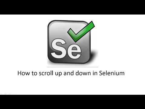 How to Scroll Page in Selenium Webdriver using Java Script
