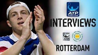 Griekspoor reageert op zijn sensationele eerste ATP-overwinning