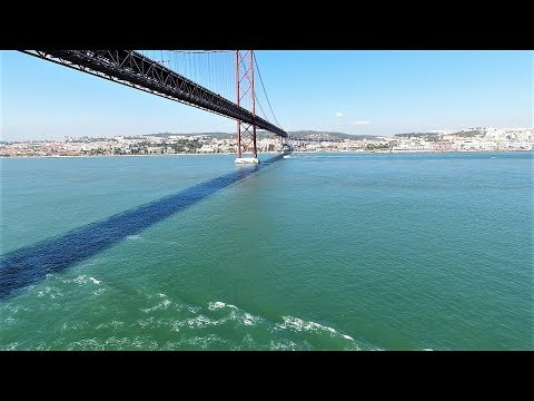 Royal Caribbean Vision of the Seas Port of Call: Lisbon Portugal Sail In 4k