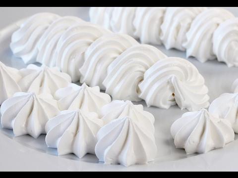 Видео рецепт: Белковый заварной крем. Рецепт крема для украшения тортов, эклеров и капкейков!