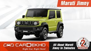 New 2018 Maruti Suzuki Jimny | Features, Specs, Price, Launch Date and More! #In2Mins | CarDekho.com