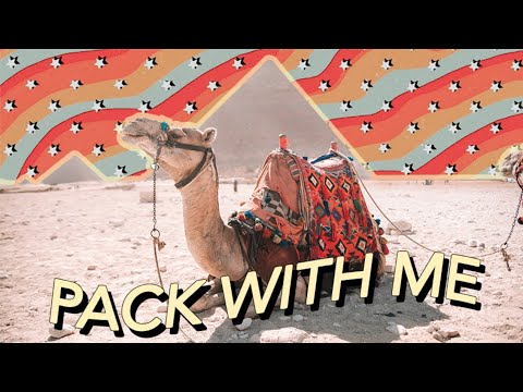 Pack With Me For EGYPT GREECE & SPAIN!! | NFL Off-Season