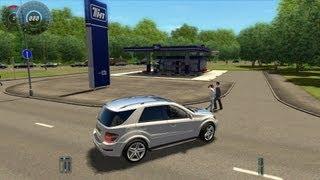 City Car Driving Mercedes Benz ML63 AMG Remake [1080p]