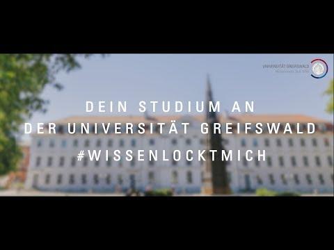 Dein Studium an der Universität Greifswald - #wissenlocktmich