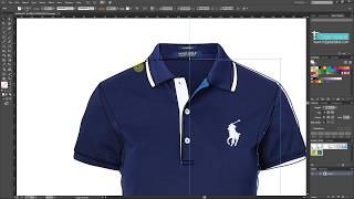 Illustrator Dersleri 22 - Illustrator Tekstil Model Çizimi