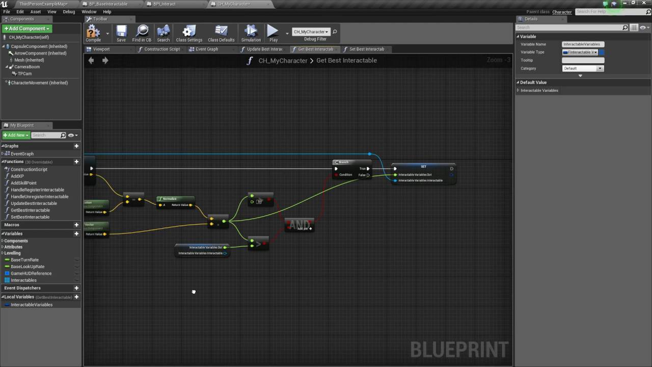 Unreal engine 4 interaction system part 2 part 10 youtube malvernweather Image collections