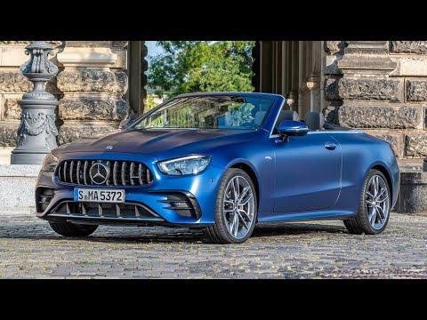 Mercedes Benz E53 AMG Cabriolet 2021 – 2022 Review, Photos, Exhibition, Exterior and Interior