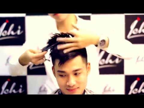 Как сделать мужскую причёску? Мужская стрижка в Китае.