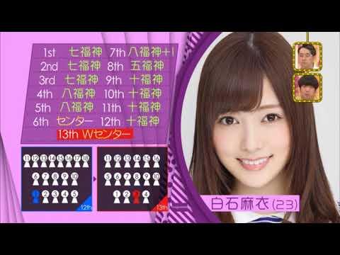 乃木坂46 Nogizaka46- Shiraishi Mai's Fun Facts (白石麻衣 のおもしろ情報)