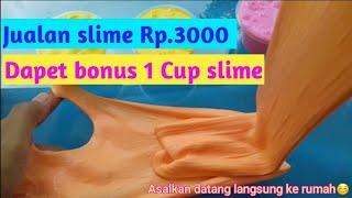 Slime Rp.3000 ??? Slime termurah cara membuat original slime