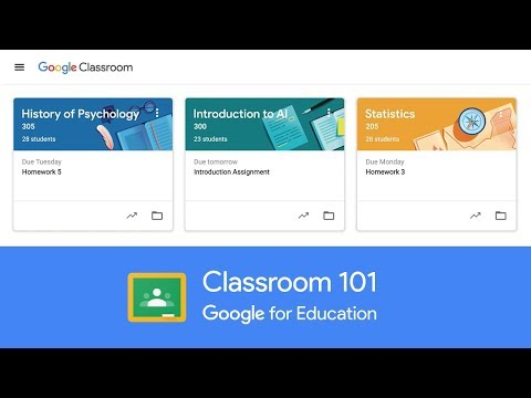 Classroom: manage teaching and learning | Google for Education