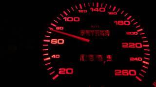 AUDI 90 2.3 (B3) 136km - Bosch K-Jetronic drive in city