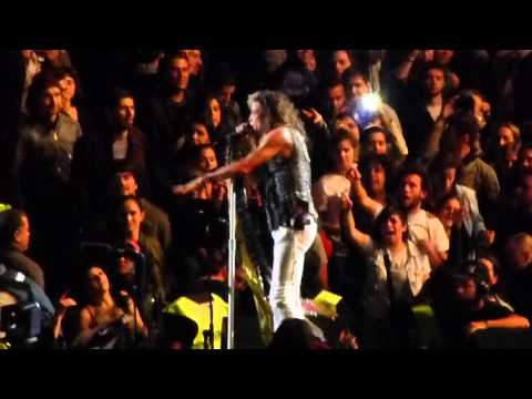 Aerosmith DUDE LOOKS A LADY Montevideo 2013
