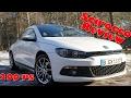 VW Scirocco 2.0 TSI Test - 200 PS SOUND & Beschleunigung 0-100