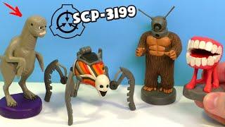 SCP-3199 Двуногие без перьев, SCP-2427, SCP-2006 и SCP-4910. Видео Лепка