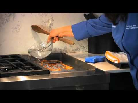 JennAir ProStyle Range with Griddle Cooking on the