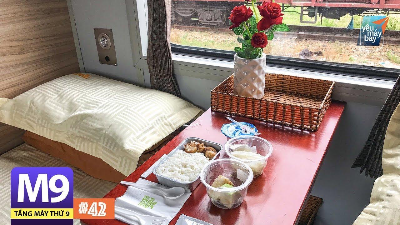 [M9] #42: Ăn cơm máy bay trên tàu lửa Đà Nẵng-Huế   Yêu Máy Bay